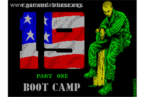 19 Part 1: Boot Camp - Sinclair ZX Spectrum - Games Database