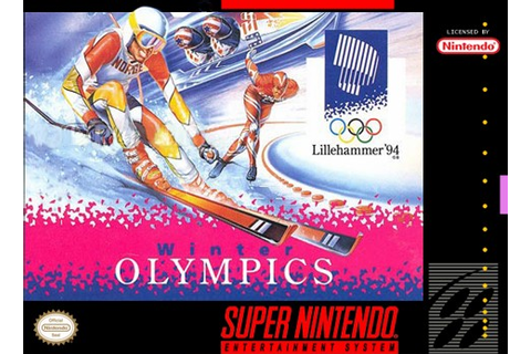 Winter Olympics 94 SNES Super Nintendo