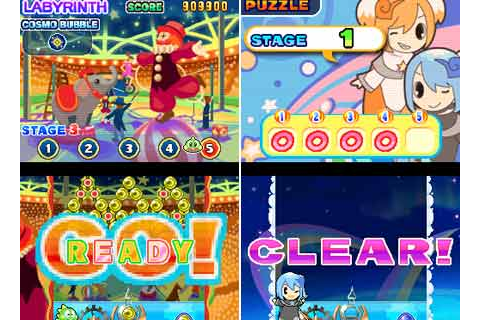 Puzzle Bobble Galaxy for Nintendo DS Releases across PAL ...