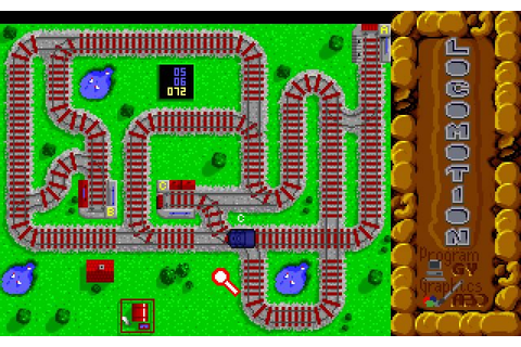 Download Locomotion puzzle for DOS (1992) - Abandonware DOS