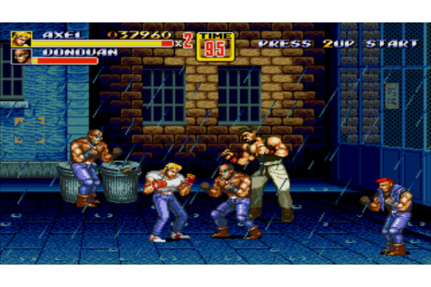 SEGA classic Streets of Rage 2 is now FREE on iOS/Android ...