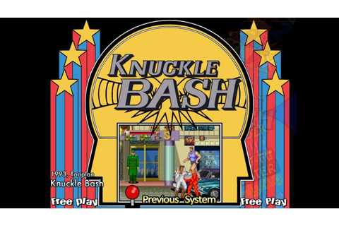 Knuckle Bash (Arcade) - YouTube