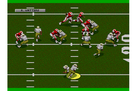 Joe Montana NFL 94 Download Game | GameFabrique