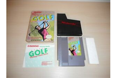 Bandai Golf Challenge Pebble Beach Complete Nintendo Game ...