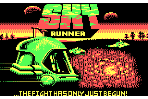Sky Runner (1987) by Cascade Games MS-DOS game