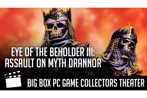Eye of the Beholder III: Assault on Myth Drannor Intro ...