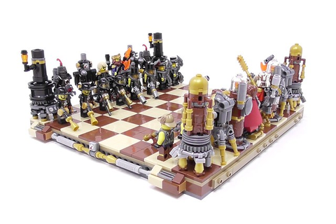 Steampunk LEGO chess set makes all the right moves | The ...
