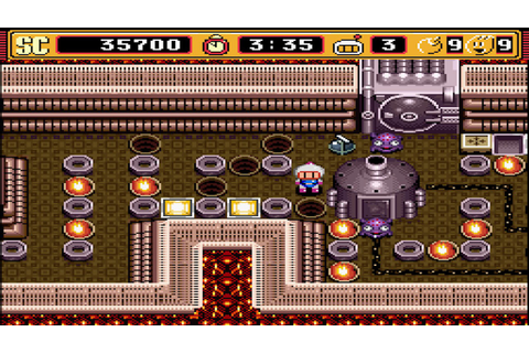 Super Bomberman 2: Normal Game: World 2-1 to 2-3 - YouTube