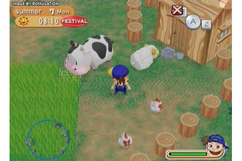 Harvest Moon - Magical Melody (USA) Nintendo Wii ISO ...