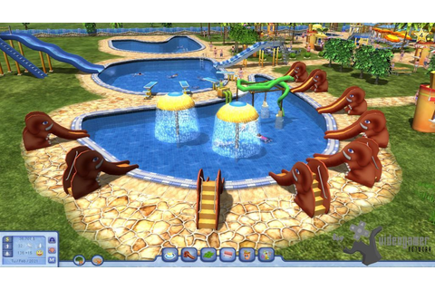 Download Water Park Tycoon PC Game Full Version