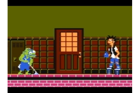 Ghoul School (NES) Playthrough - NintendoComplete - YouTube