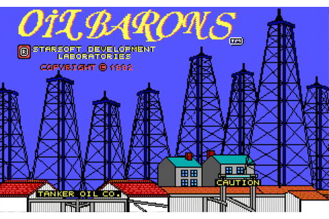 Download Oil Barons - My Abandonware