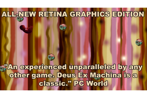 DEUS EX MACHINA GAME OF THE YEAR 30th ANNIVERSARY ...