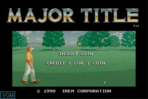 Major Title for MAME - The Video Games Museum