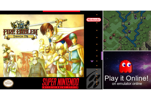 Play Fire Emblem 5: Thracia 776 (English) on Super Nintendo
