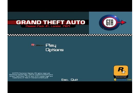Grand Theft Auto: London 1969 gameplay (PC Game, 1999 ...