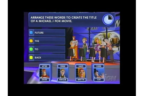 Buzz! The Mega Quiz PlayStation 2 Gameplay - The Right ...