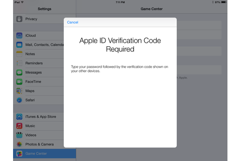 ios - No input field for Apple ID Verification Code - Ask ...