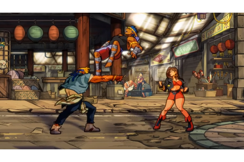Streets of Rage 4 looks great and sounds familiar in new ...