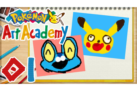 Pokémon Art Academy - 01 | Drawing Pikachu and Froakie ...