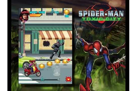 Spiderman Toxic City 1MB 240x320 Gameloft - YouTube