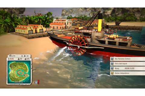 Tropico 5 PS4 Details Emerge