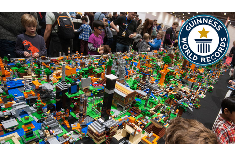 ... - Largest LEGO® Videogame Diorama- Guinness World Records - YouTube