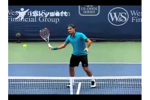ATP & WTA Tour Pro Tennis: Volleys & Net Game Technique ...