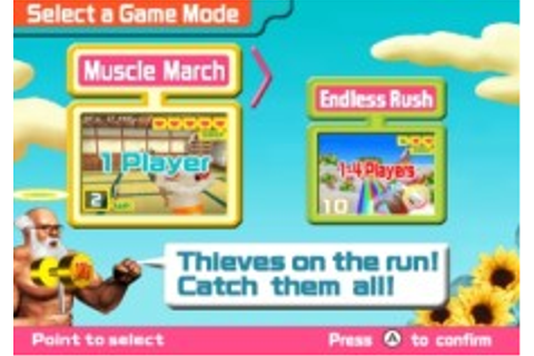 Muscle March | WiiWare | Games | Nintendo
