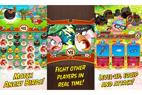 Angry Birds Fight claws its way to the Play Store