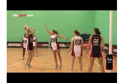 Netball Game: Goal Attack Position Guide - YouTube