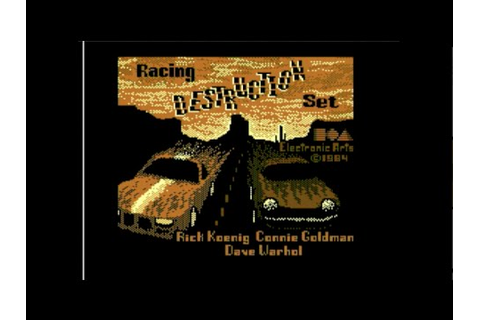 Cool and Unusual Games: Racing Destruction Set (Commodore ...