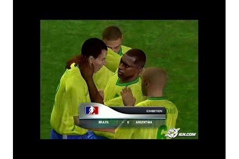 World Tour Soccer 2006 PlayStation 2 Gameplay ...