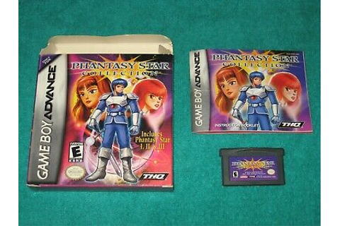 Phantasy Star Collection (Nintendo Game Boy Advance, 2002 ...