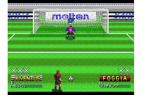 PC Engine Gaming: Formation Soccer 95 Della Serie A - YouTube