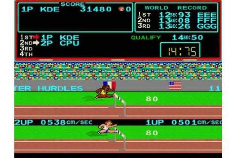 Track and Field - greatest ever sports games - Greatest ...