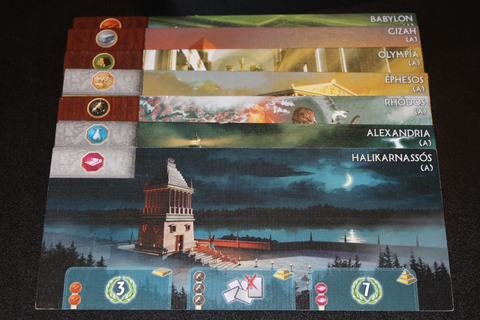 #21 – 7 Wonders [Base Game] – What's Eric Playing?