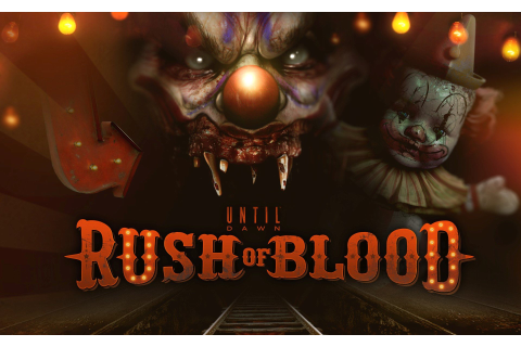 Until Dawn Rush Of Blood Gameplay Demo Playstation VR ...
