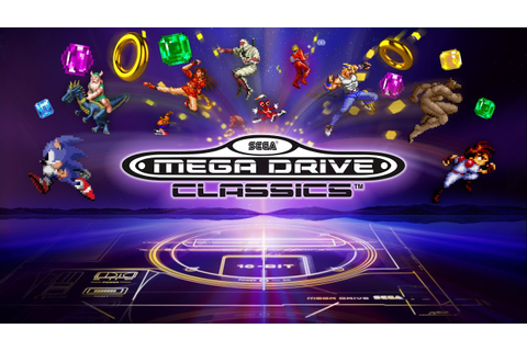 SEGA Mega Drive Classics is coming to PS4 and Xbox One ...