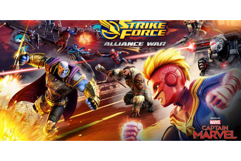 MARVEL Strike Force Introduces Alliance War | | DisKingdom ...