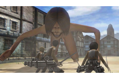 Attack on Titan 3DS first mission gameplay - Gematsu