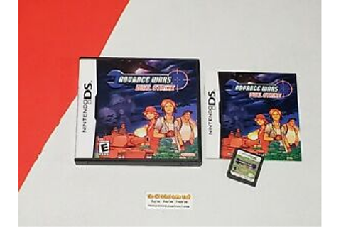 Advance Wars Dual Strike - Complete Nintendo DS Game ...