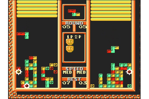 Tetris 2 (NES, 2 Player) Saturday Morning Gaming - YouTube
