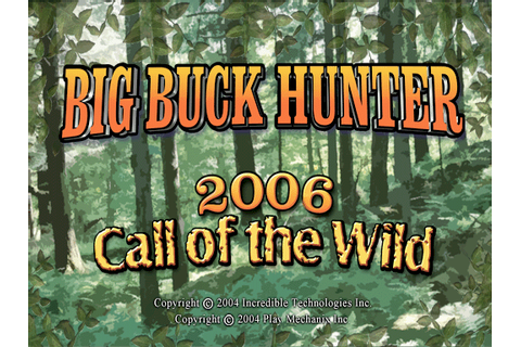 Big Buck Hunter 2006: Call of the Wild, Arcade Video game ...