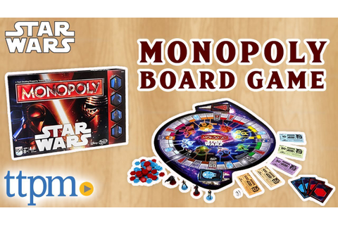 Star Wars Monopoly Board Game - Rules and Review | Hasbro ...