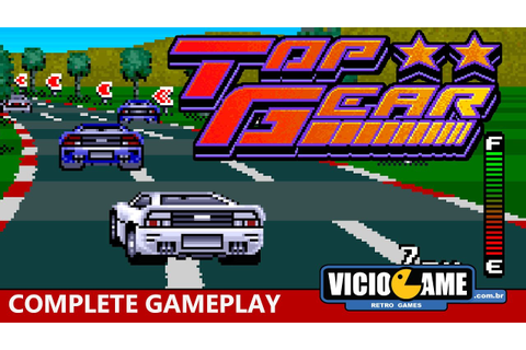 Top Gear (Super Nintendo) - Complete Gameplay - YouTube