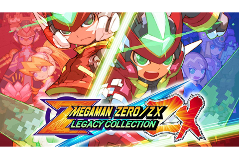 Mega Man Zero/ZX Legacy Collection Leaked, Out in January 2020