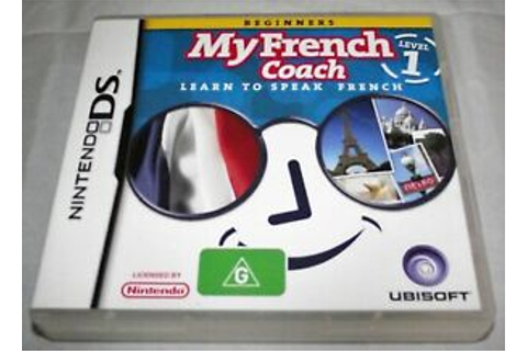 My French Coach Level 1 DS 2DS 3DS Game *Complete* | eBay