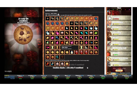 Longest Cookie Chain Streak - 17 clicks - Cookie Clicker ...