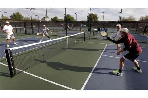 Tennis-like game picking up steam with seniors | Games ...